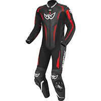 Berik Rsf Teck Suit Red Fluo Black