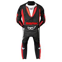Berik Supersport 2.0 Suit Black Red Fluo White