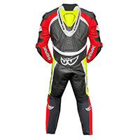 Berik Super Tense 2.0 Suit Red Yellow Fluo White