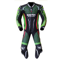 Berik Tuta In Pelle Racing -t Verde