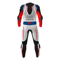 Dainese Misano 2 D-air® Perforated Black White Blue