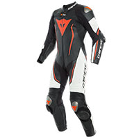 Dainese Misano 2 D-air® Perforated Black White Red