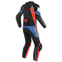 Dainese Avro D2 2pcs Suit Blue Black Red