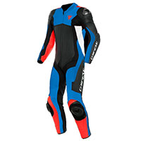 Dainese Assen 2 Perforated 1pc Suit Red Blue