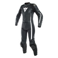 Dainese Assen Two Piece Women's Race Suit Black