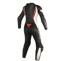 Dainese Assen Perforated Lady Race Suit Red