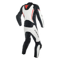 Dainese Assen Two Piece Race Suit White