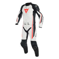 Dainese Assen Two Piece Race Suit Bianco