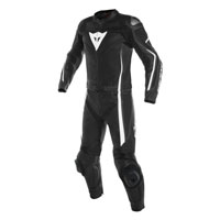 Dainese Assen Two Piece Race Suit Nero