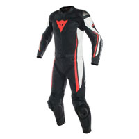 Dainese Assen Two Piece Race Suit Red