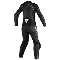 Dainese Avro D2 2 Pc Lady Suit Black