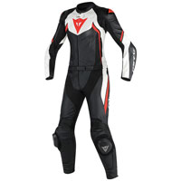 Dainese Avro D2 2 Pc Lady Suit Rosso Donna