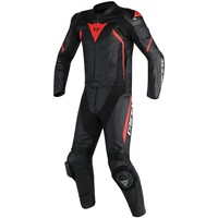Dainese Avro D2 2pcs Suit Black Red