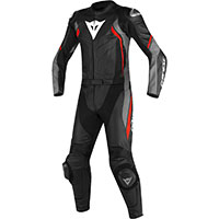 Dainese Avro D2 2pcs Suit Grey Red