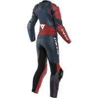 Dainese Avro D2 2pcs Lady Suit Haute Red
