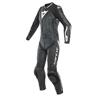 Dainese Avro D-air 2pcs Lady Suit Black