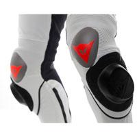 Dainese Mugello R D-air® Lederkombi Weiß-rot-schwarz - 5