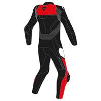 Dainese Gen-z Junior Suit Black Red Kid
