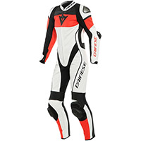 Dainese Imatra Air Lady Suit White Red