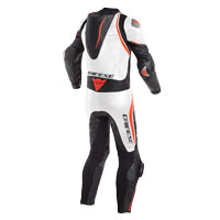 Dainese Laguna Seca 4 Perforated Race Suit Bianco