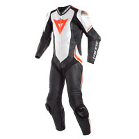 Dainese Laguna Seca 4 Perforated Race Suit White