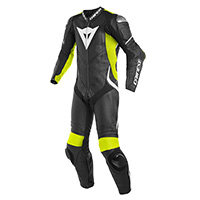 Dainese Laguna Seca 4 Perforated Race Suit Nero Giallo
