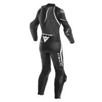Dainese Laguna Seca 4 Perforated Race Suit Lady Black White