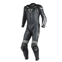 Dainese Laguna Seca D1 2pc Perforated Suit Black Anthracite