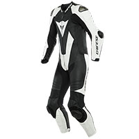 Dainese Laguna Seca 5 One Piece Suit Black White