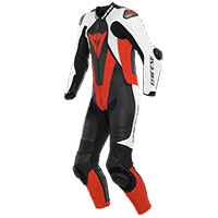 Dainese Laguna Seca 5 One Piece Suit White Red