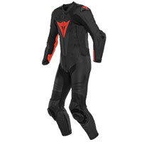 Dainese Laguna Seca 5 One Piece Suit Black Red