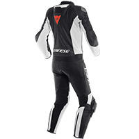 Dainese Mistel 2pcs Leather Suit White Black