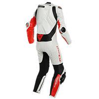 Combinaison Dainese Mugello Rr D-air® Blanc Rouge