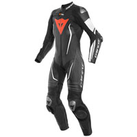 Dainese Misano 2 D-air® Lady Perforated Black White