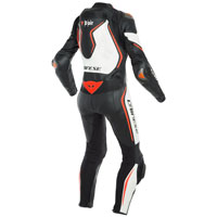 Dainese Misano 2 D-air® Lady Perforated Black Red