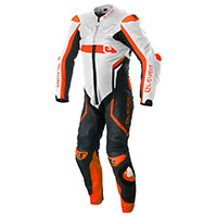 Eleveit Rc Pro Suit White Orange Fluo