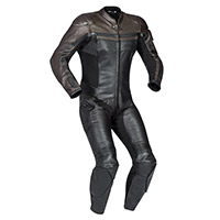 Ixon Legendary One Piece Suit Black Brown