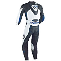 Ixon Leather Suit Starbust Black White Blue