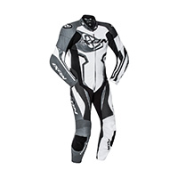 Ixon Falcon Leather Suit Gray