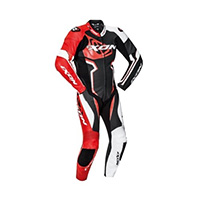 Ixon Falcon Leather Suit Red