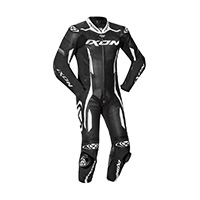 Ixon Vortex 2 Leather Suit Black White