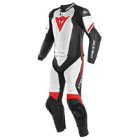 Dainese Laguna Seca 4 2pcs Perforated Suit White Red