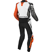 Macna Tracktix 2pcs Suit White Orange