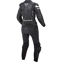 Macna Tracktix 2pcs Lady Suit Black