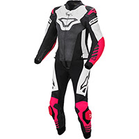 Macna Tracktix 2pcs Lady Suit White Pink