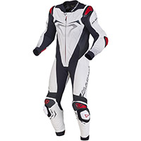 Macna Voltage 1pc Suit White Black