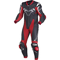 Macna Voltage 1pc Suit Black Red