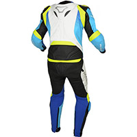 Traje Macna Voltage 2pc blanco azul amarillo