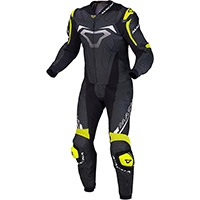 Macna Voltage 2pc Suit Black Fluo Yellow