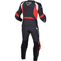 Traje Macna Voltage 2pc negro fluo rojo